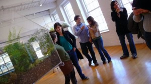 In the midst of all of this work residents did get a chance to check out the art at MASS MoCA.