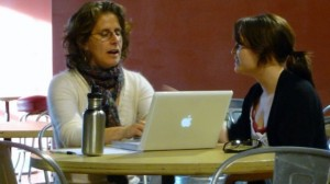 Filmmakers like Marcia Jarmel spent time working on their individual outreach plans with input from Working Films staff, like Deputy Director Molly Murphy, and other guest instructors,
