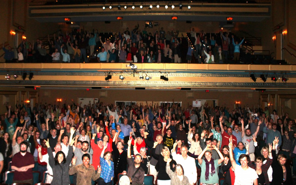 Gasland II draws an energetic audience at the Carolina Theater of Durham! Photo by Lee Ziesche, Gasland II