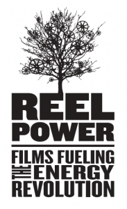 Reel Power Logo white background
