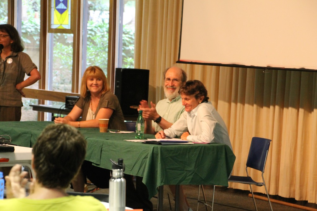 CAS Raleigh Amy Adams (Appalachian Voices) John Wagner (Frack Free NC) Pricey Harrison (NC State Representative)